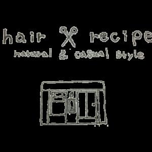 hairrecipe-手書きロゴ